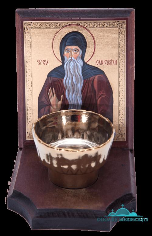 Icoana candela Sf. Ioan Casian