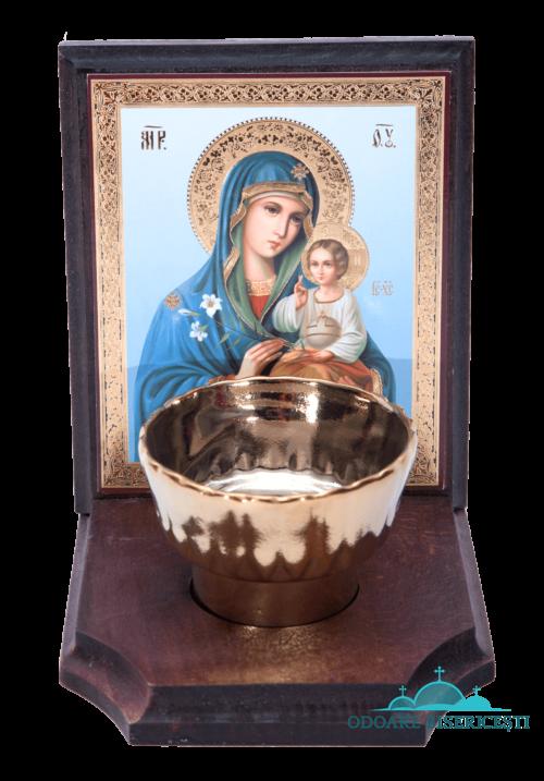 Icoana candela Maica Domnului