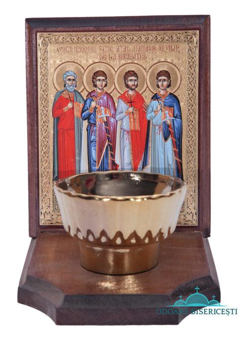 Icoana candela Sinții de la Niculitel